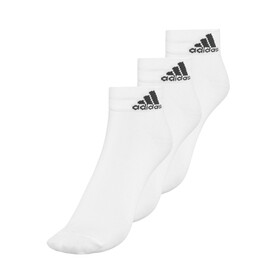 adidas Performance Thin 3PP Ankle Socks Unisex white/white/black